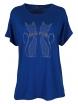 Дамска блуза BIG STAR  А-5 кралско синя