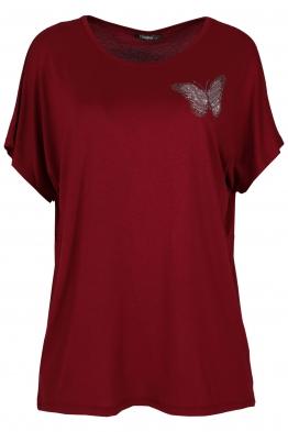 Дамска блуза BIG STAR А-1 бордо