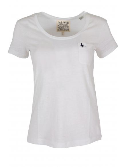 Дамска тениска NAME бяла