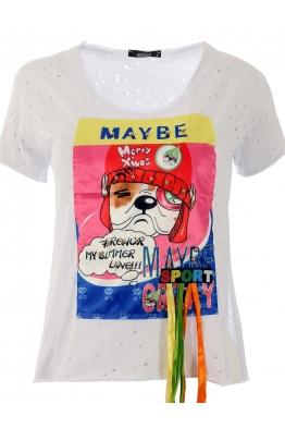 Дамска тениска MAYBE
