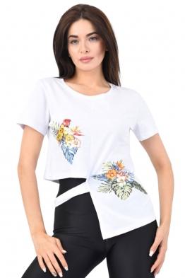 Дамска блуза 130 бяла
