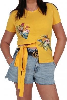 Дамска блуза 130 жълта