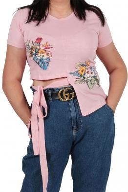 Дамска блуза 130 розова