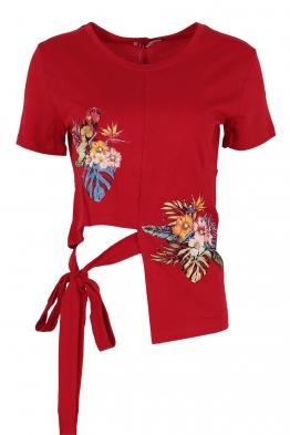 Дамска блуза 130 червена