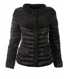 Дамско яке 18001 черно