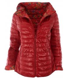 Дамско яке 18015 червено