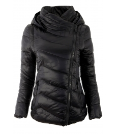Дамско зимно яке Е26538 черно
