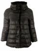 Дамско зимно яке с две лица Е26527 черно