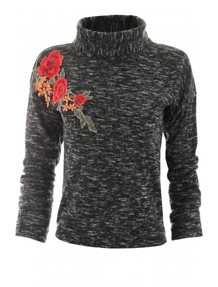 Дамска блуза  МИСТЕРИ  графит