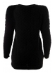 Дамски пуловер Арчи А-2 черен