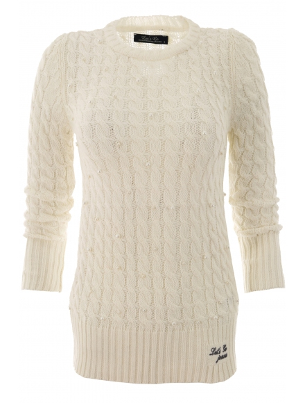 Дамски пуловер Арчи А-1екрю