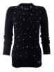 Дамски пуловер Арчи А-1 тъмно син