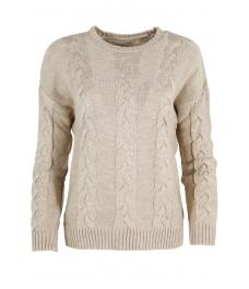 Дамски пуловер Лиза бежов