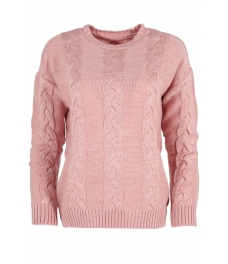 Дамски пуловер Лиза розов