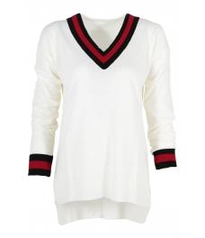 Пуловер 513 бял