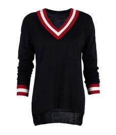 Пуловер 513 тъмно син