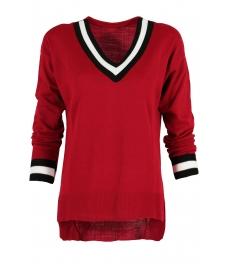 Пуловер 513 червен