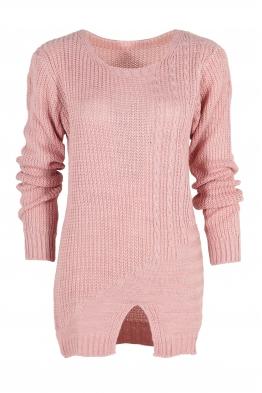 Дамски пуловер Фрея розов