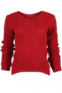 Пуловер КЕНДИ червен