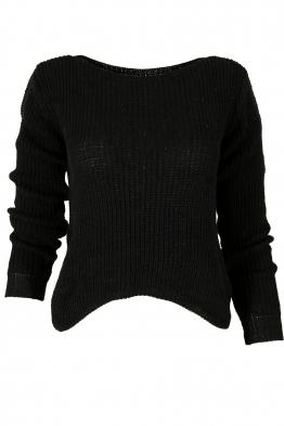 Пуловер КЕНДИ черен