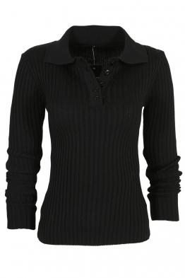Дамска блуза ЛЕОНОР черна