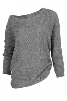 Дамска блуза ТЕРЕЗА сив