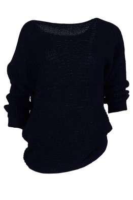 Дамска блуза ТЕРЕЗА тъмно син