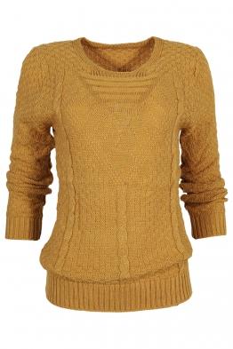 Пуловер МОНРЕАЛ B-1 горчица