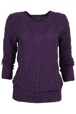 Пуловер МОНРЕАЛ B-1 лилав