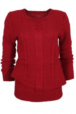 Пуловер МОНРЕАЛ B-2 червен