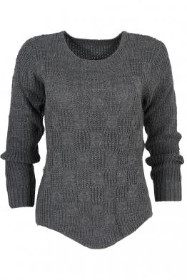Дамски пуловер ANTONELLA графит
