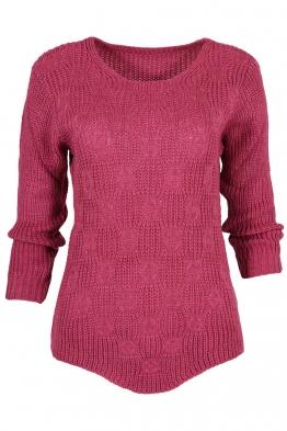 Дамски пуловер ANTONELLA циклама