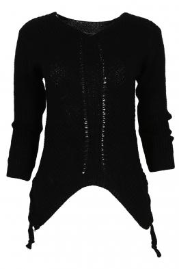 Дамски пуловер MEI черен