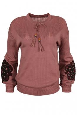 Дамски пуловер 123-8 пепел от рози