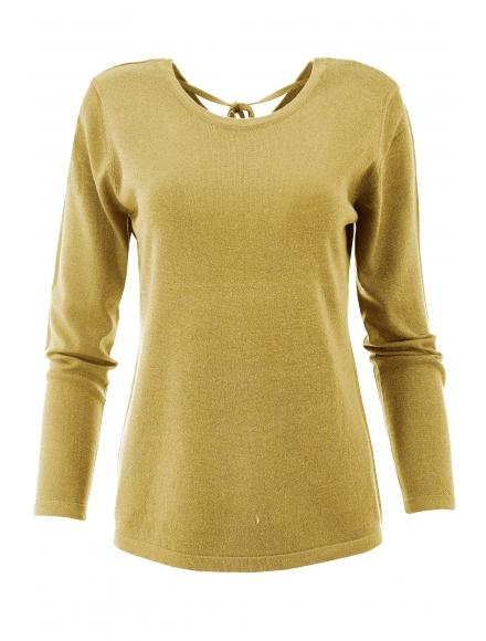Дамска блуза XX392 горчица