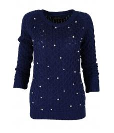 Дамски пуловер Арчи А-2 син