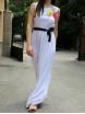 Дълга рокля РЕГИНА бяла