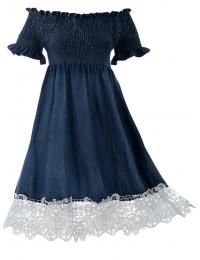 Дънкова рокля ОЛИВ