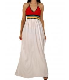 Дамска рокля YD-353 бяла