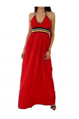 Дамска рокля YD-353 червена
