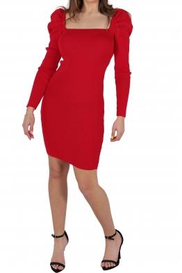 Къса рокля АНЕЛ червена