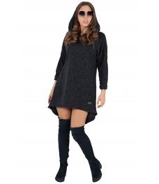 Дамска рокля - туника CONTESSA графит