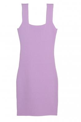 Къса рокля  KONSTANS лилава