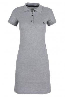 Къса рокля МОР сива