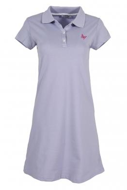 Къса рокля МОР B-1 млечно лилава