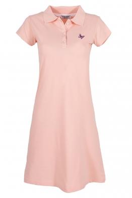 Къса рокля МОР B-1 розова