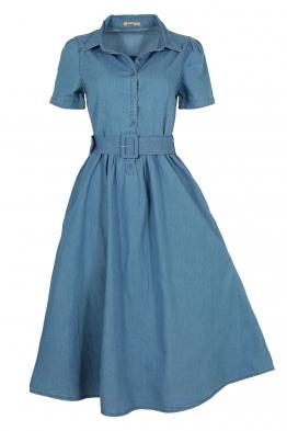 Дънкова рокля 8023