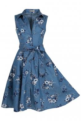 Дънкова рокля 8036