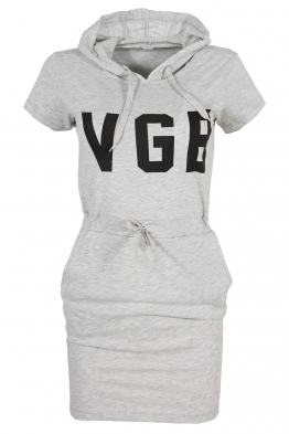 Дамска туника - рокля VGB сива