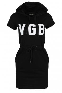 Дамска туника - рокля VGB черна